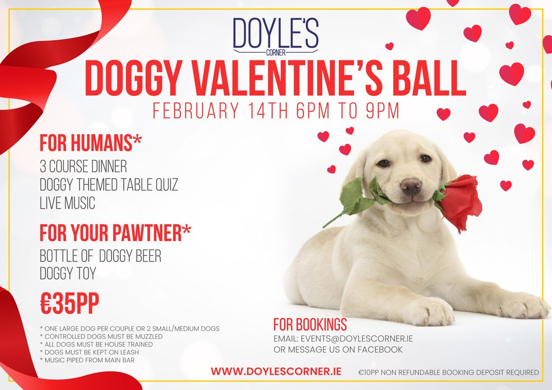 Doggy Valentines Ball